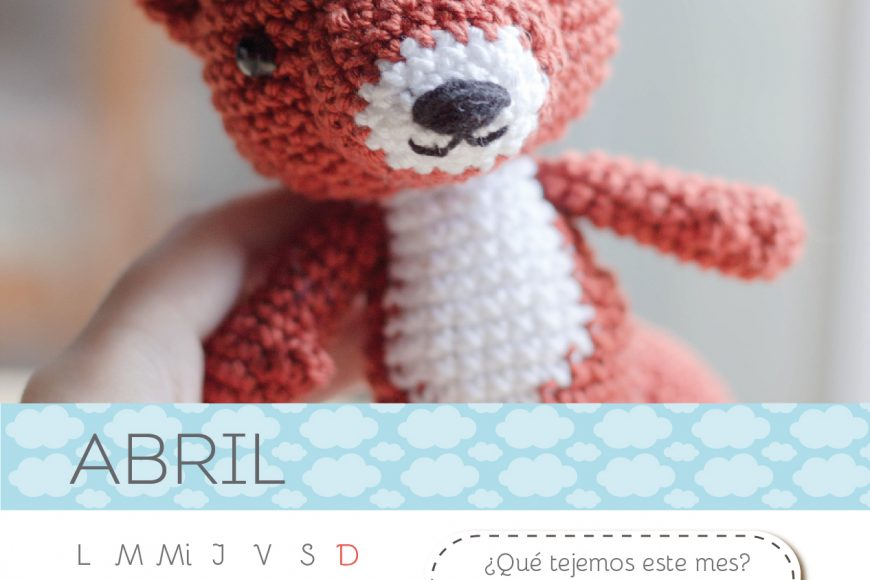 Calendario Amigurumi: Abril