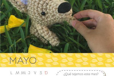 Calendario Amigurumi: Mayo