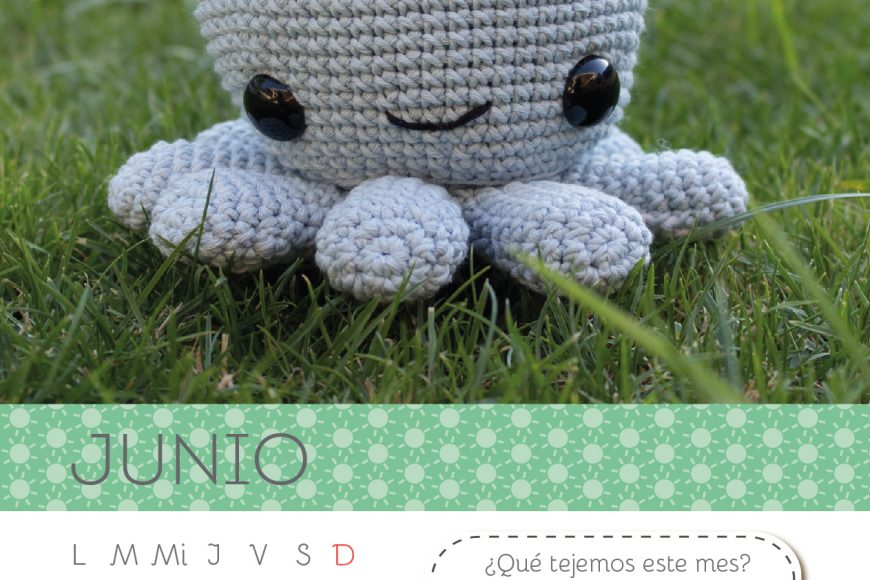 Calendario Amigurumi: Junio