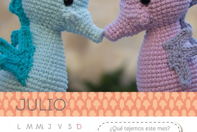 Calendario Amigurumi: Julio