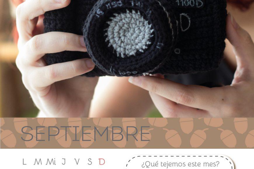 Calendario Amigurumi: Septiembre