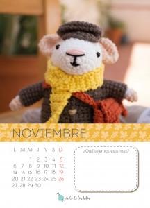 11. Amigurumi Noviembre