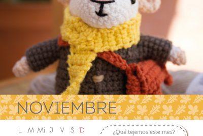 Calendario Amigurumi: Noviembre