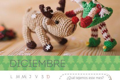 Calendario Amigurumi: Diciembre