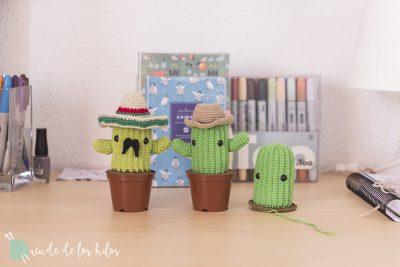 Esta ciudad no es lo suficientemente blandita… ¡Cactus amigurumi!