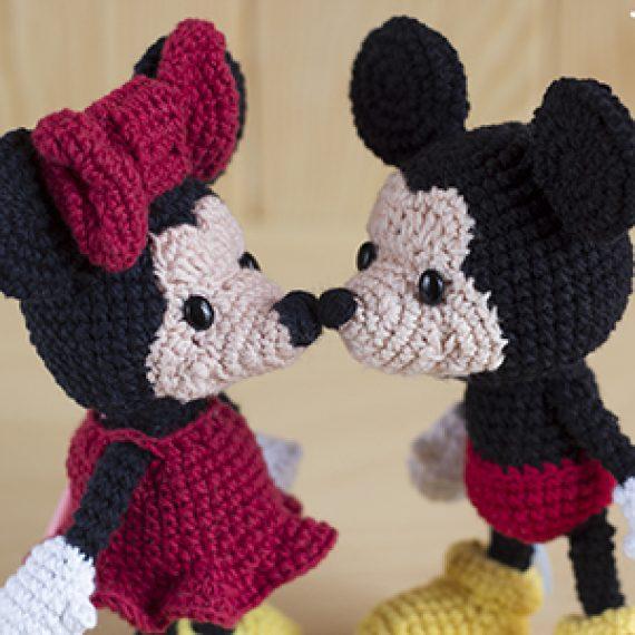 PACK Patrón Mickey y Minnie ♥