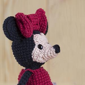 Amigurumi Minnie Mouse Rassel | Etsy | 300x300