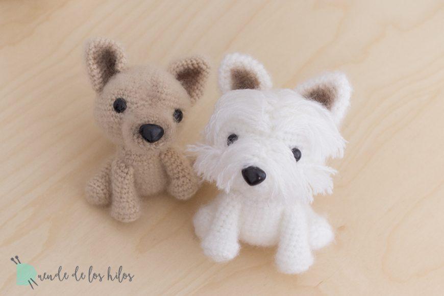 Ran y Duque, perritos amigurumi personalizados