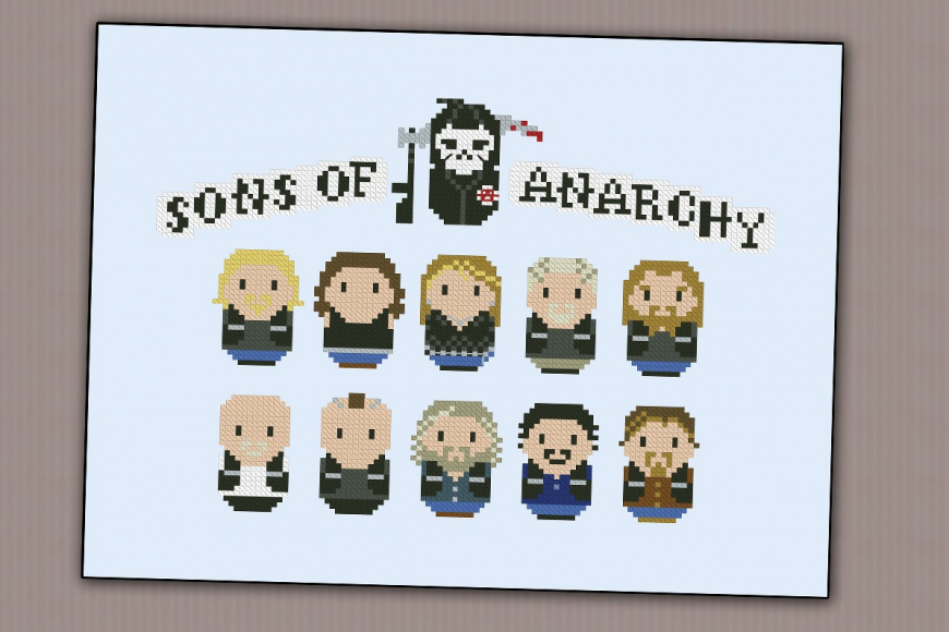Tejo mientras veo… Sons of Anarchy