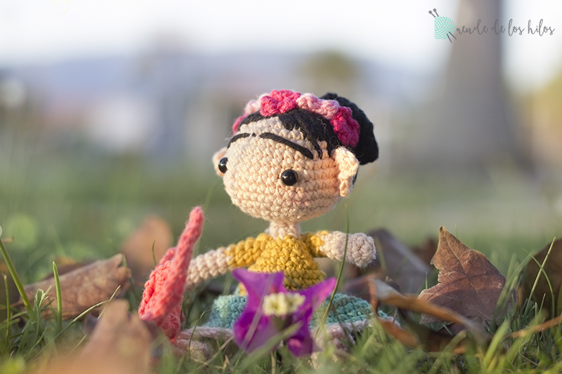 Amigurumis De Frida Kahlo : Los artistas de maría amigurumis el artista artistas y frida