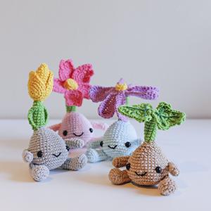 Flores amigurumi patrón (4)
