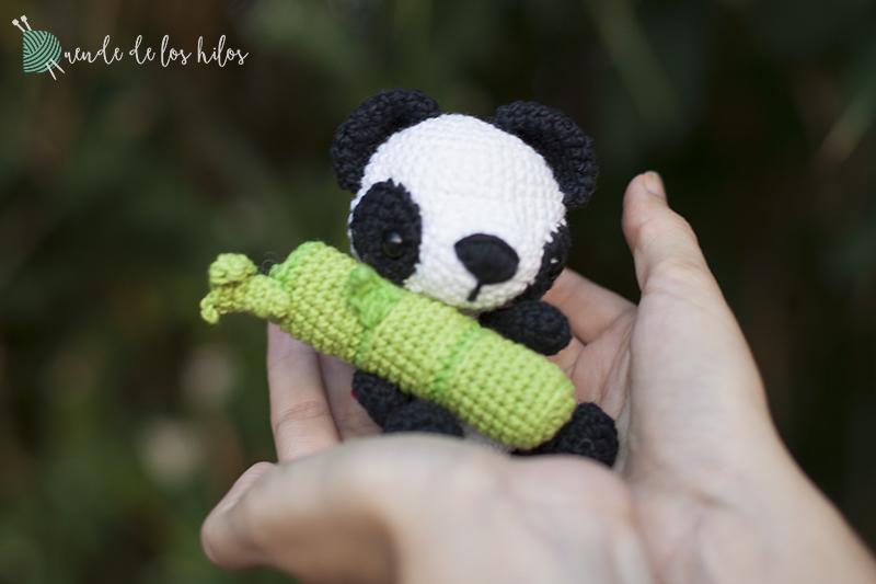 Amigurumi Oso Panda Patron : Panda amigurumi u amigurumi duende de los hilos