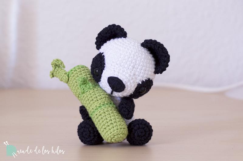 3 Panda grande Amigurumi Crochet patrón PDF | Amigurumi animales ... | 533x800