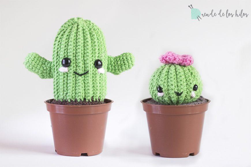 CAL Cactus – ¡Patrón cactus amigurumi GRATIS! – Amigurumi Duende de ...