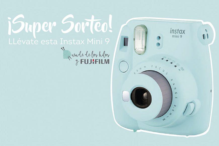 Review Instax Mini90, Unboxing + ¡Super Sorteo! ¡Gana una Instax mini 9!