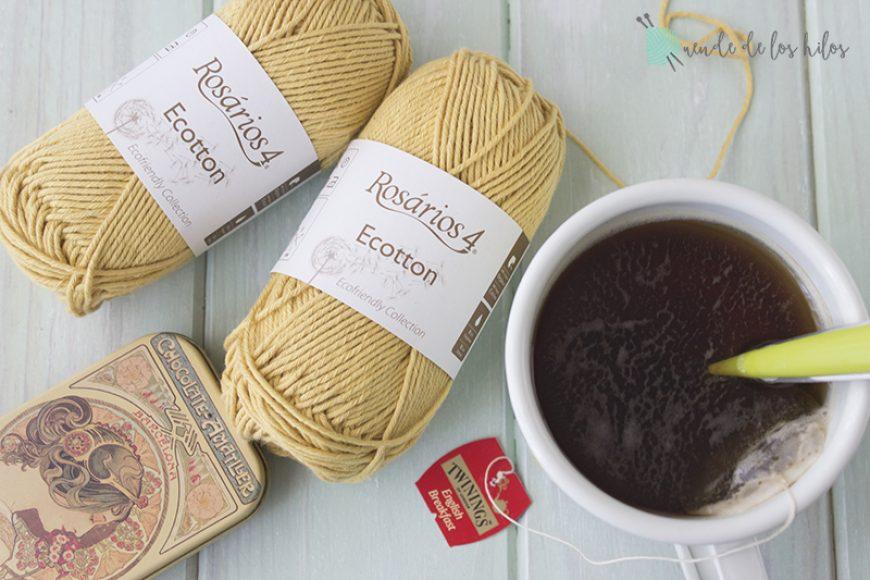 Materiales: Rosarios Cotton, algodón ecológico.