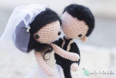 Bea y Gon: Novios amigurumi personalizados