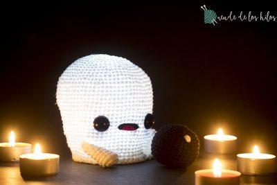 CAL Fantasma – ¡Patrón fantasma amigurumi especial Halloween!