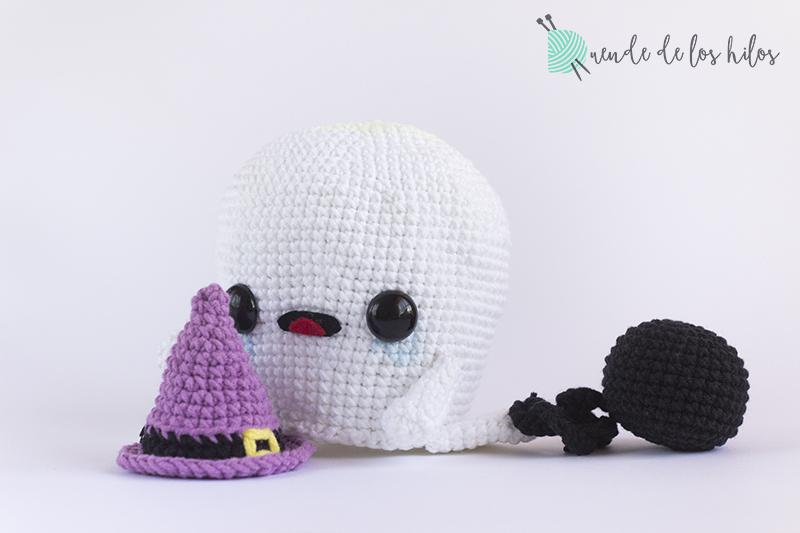 CAL Fantasma – ¡Patrón fantasma amigurumi especial Halloween ...