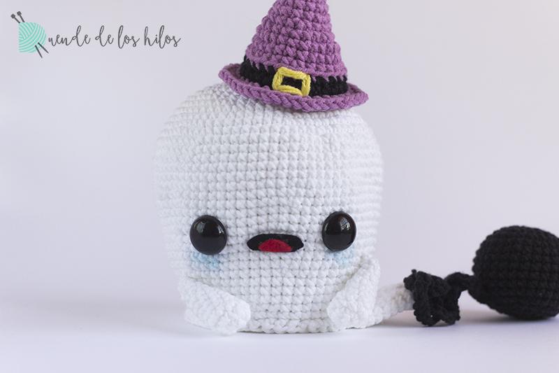 Patrón: Kit brujita kawaii – Especial Halloween – Amigurumi Duende ...