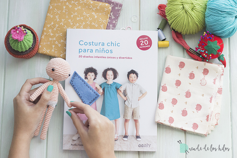 Review GGDIY: Costura chic para niños – Amigurumi Duende de los Hilos