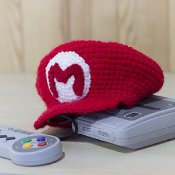 Patrón Crochet Gorra Mario Bros