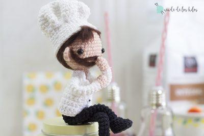 Sergio: ¡Nuestro amigurumi cocinero!