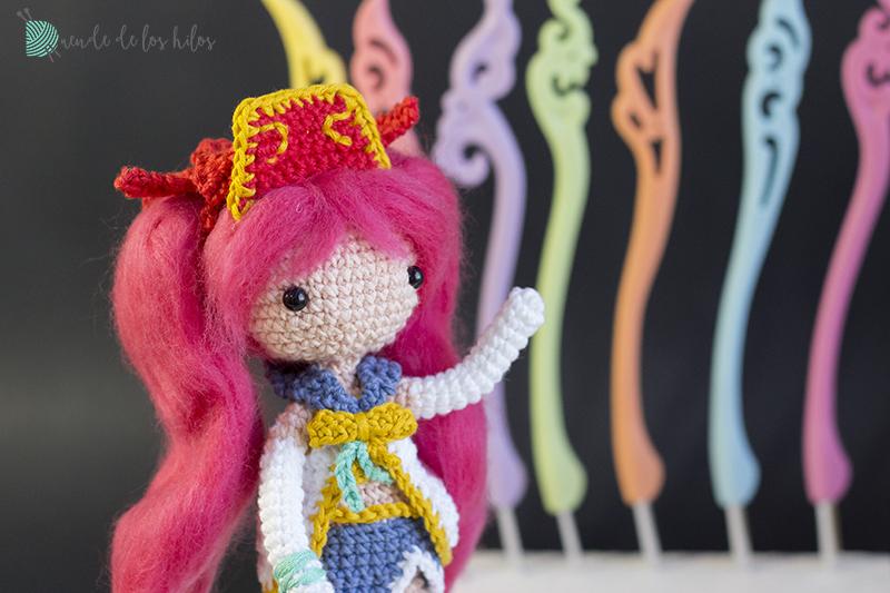 53 Ideas crochet amigurumi anime tutorials | Rękodzieło, Piórnik | 533x800
