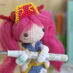 Mushihimesama – ¡Un amigurumi estilo anime!