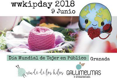 ¡Ven al wwkipday! ¡Día Mundial de Tejer en público en Granada!