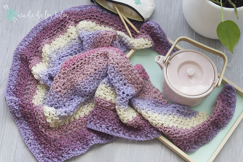 Chal habichuelita – ¡Chal fácil a crochet! – Amigurumi Duende de los ...