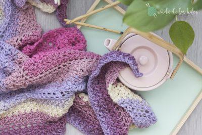 Chal habichuelita – ¡Chal fácil a crochet!