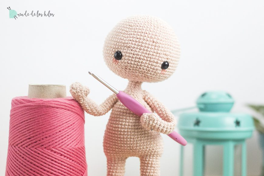 Teje tu Duende – Nuestro patrón de muñeco amigurumi