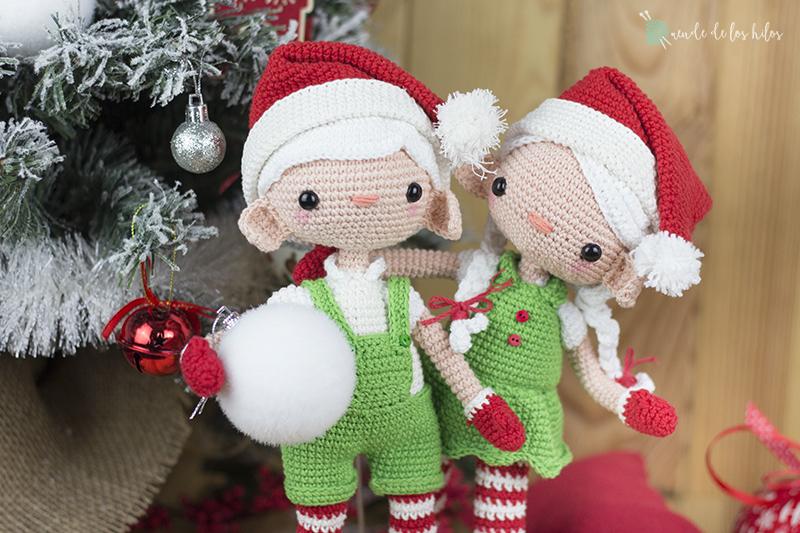 Amigurumi Navidad En Crochet - Tejido para Noche buena - YouTube | 533x800