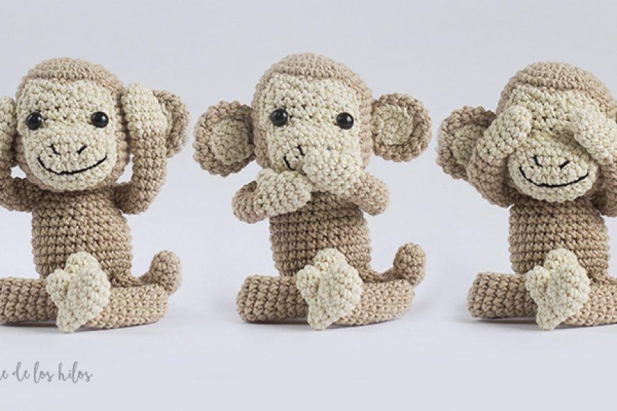 Mani el mono: Patrón de crochet