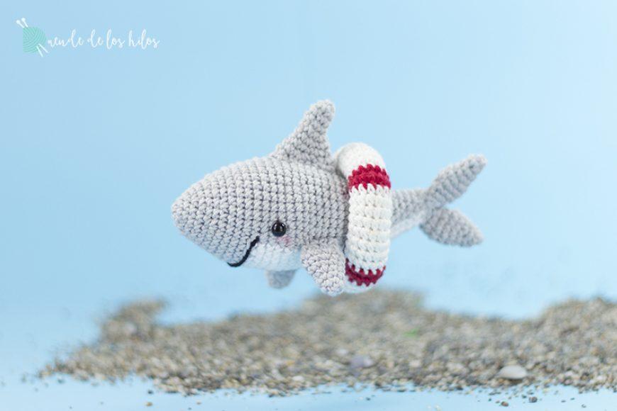 CAL #Nachoeltiburón ¡Tiburón amigurumi!
