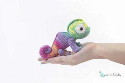 ¡Camaleón amigurumi! CAL #Calduendecamaleón